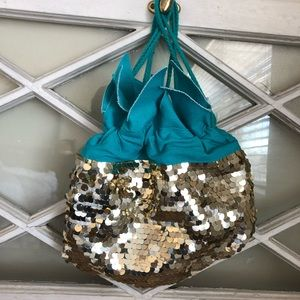 NWOT Cat and Jack Pineapple Sequin Bag